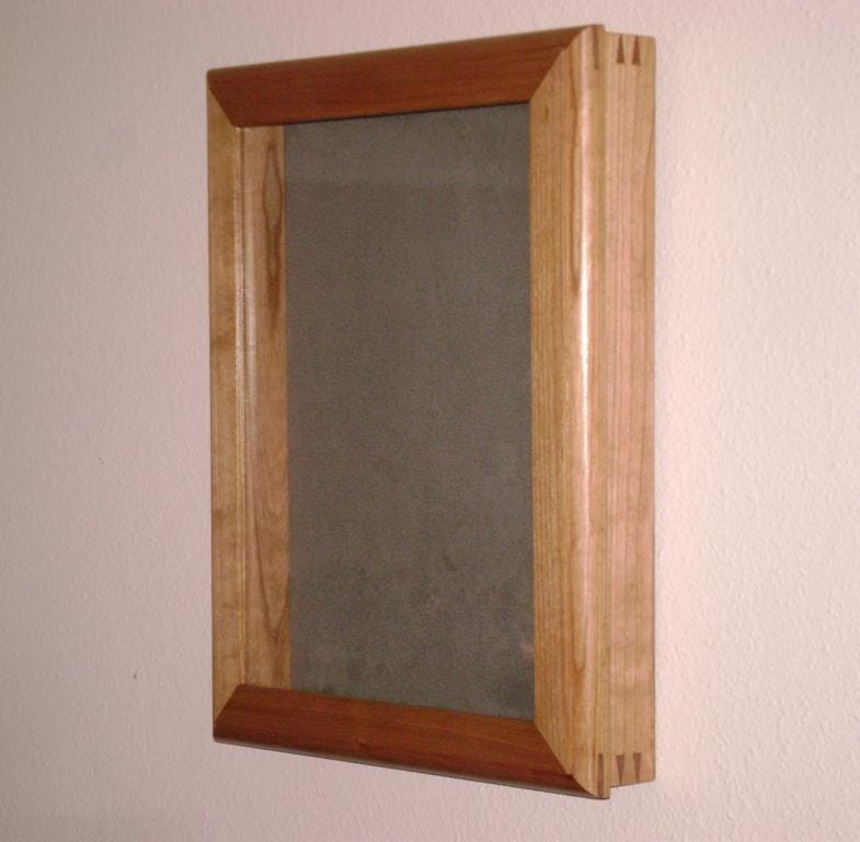 Shadow Box With Hinged Front Furniture Wood Talk Online