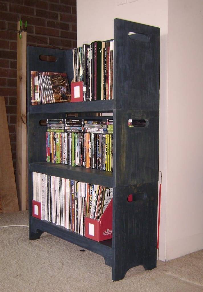 Take apart bookcase