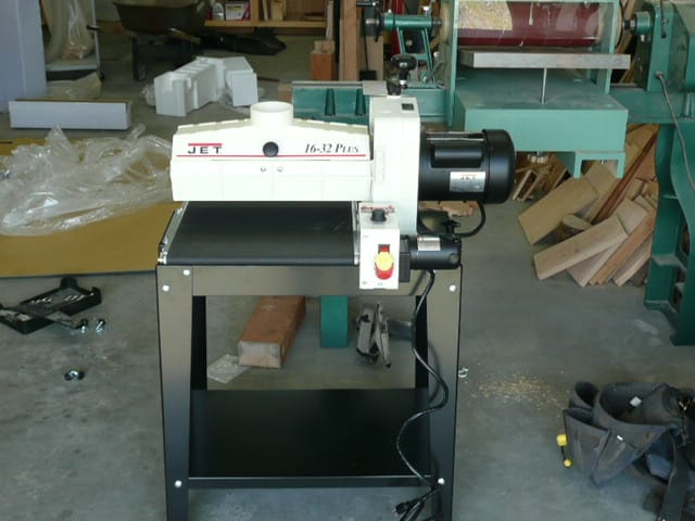 how to make a homemade drum sander