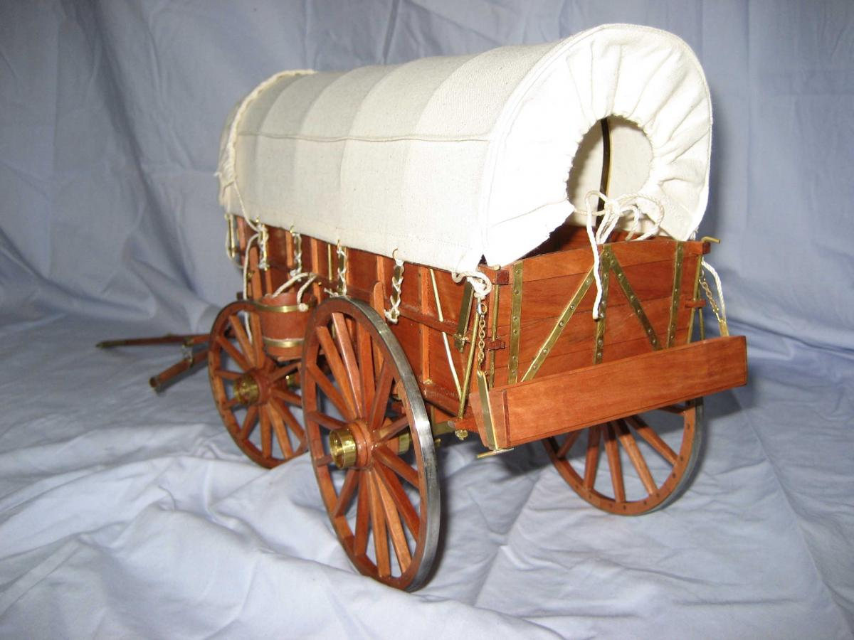 Covered wagon project showcase wood talk online for Covered wagon plans
