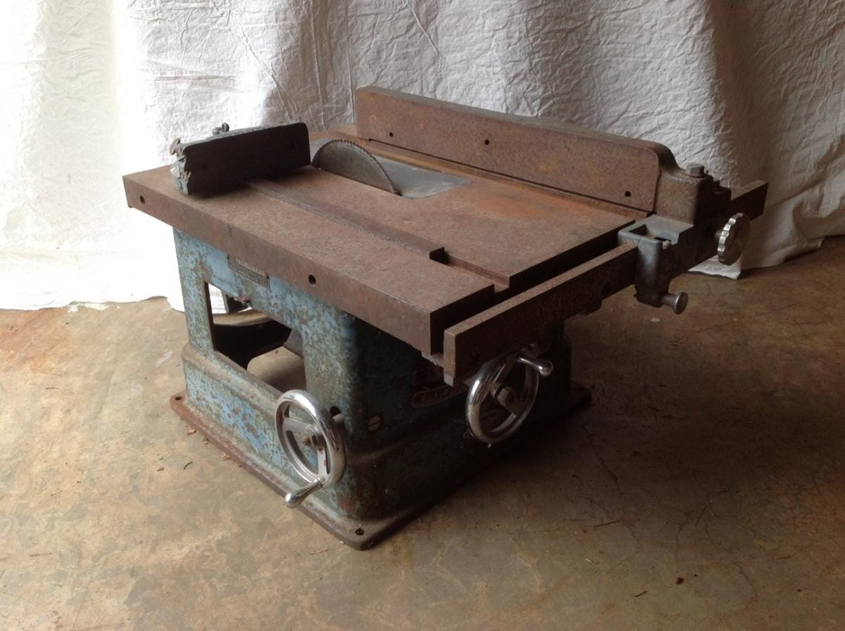1938 Craftsman 8 Blade 20 X16 Table Tilt Arbor Table Saw Built By Atlas Press