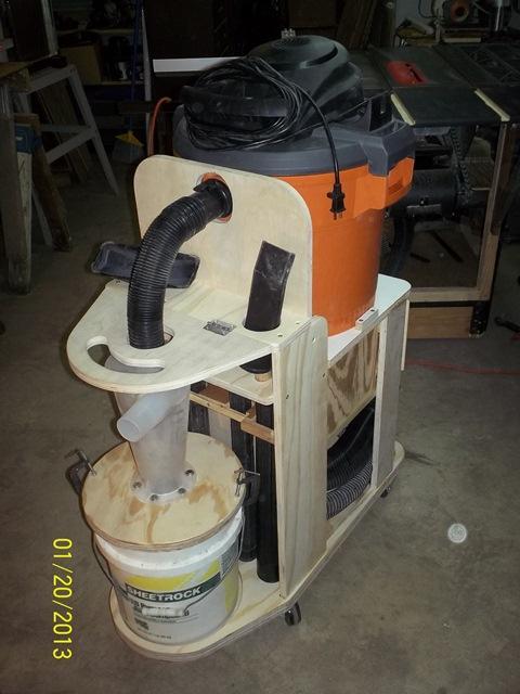 Shop Vac Cyclone Cart Plans The Shop Wood Talk Online