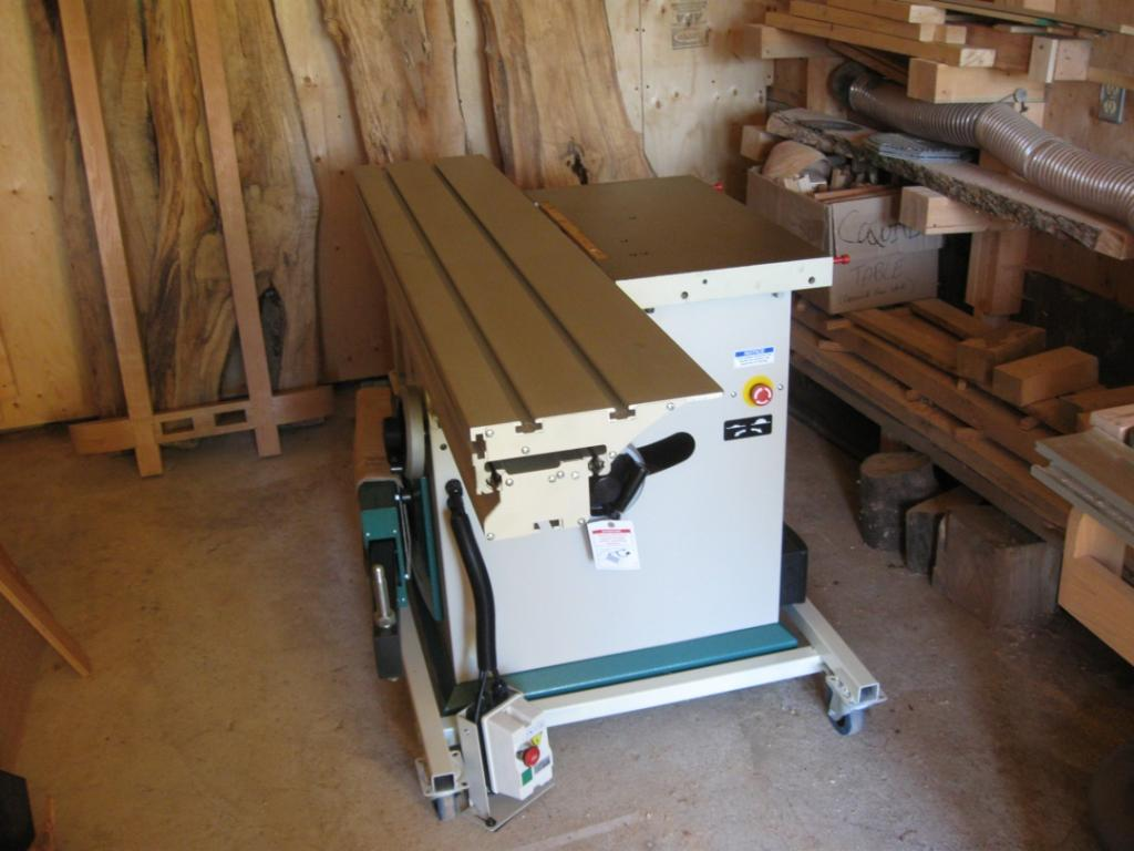 Mobile Table Saw Base General Woodworking Talk Wood Talk Online