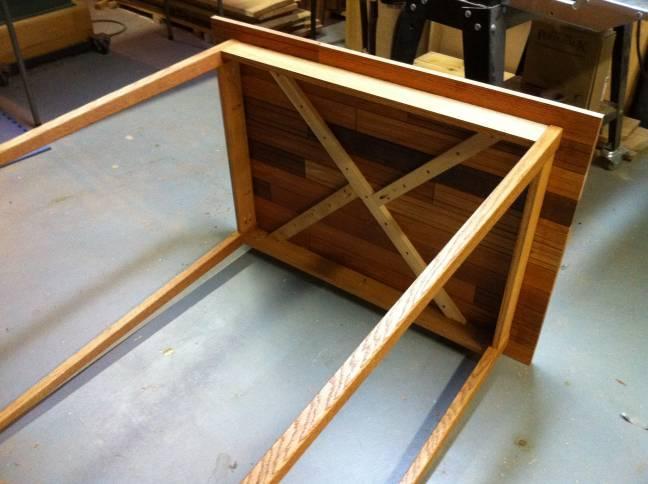 Left Over Engineered Hardwood Flooring Project Ideas