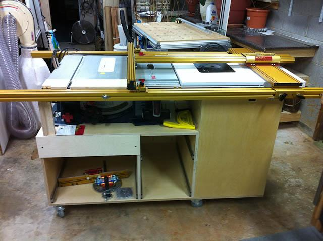Rolling table saw cabinet power tools wood talk online post 1150 0 74001600 1299925912thumb keyboard keysfo Images