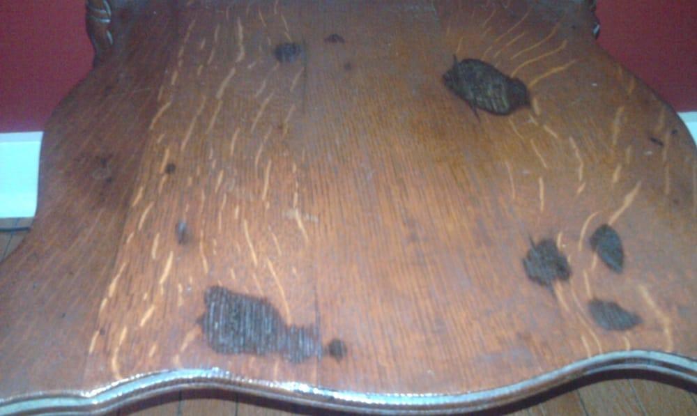 battery acid stains i believe finishing wood talk online. Black Bedroom Furniture Sets. Home Design Ideas