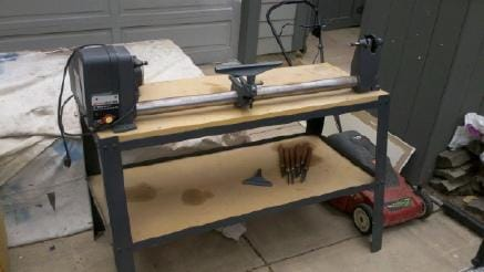 Craftsman 12 Quot Wood Lathe W Stand Carving Set Never Used