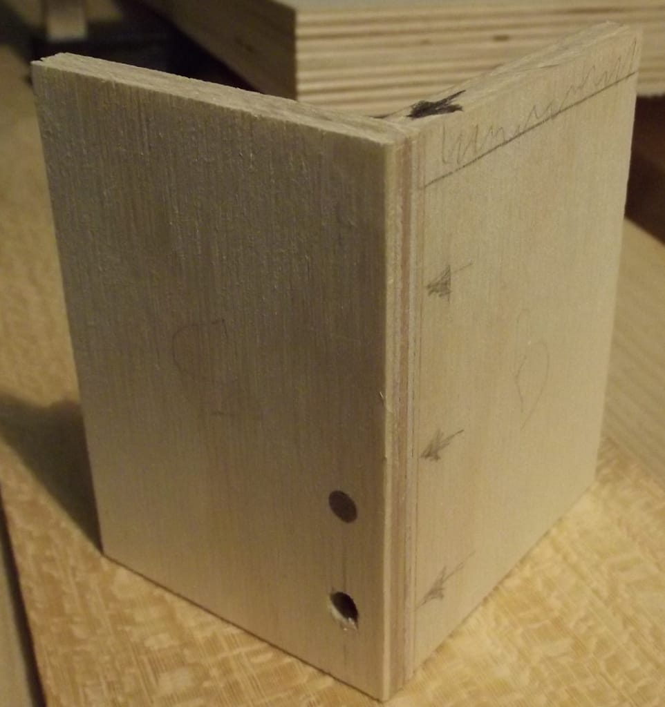 Plywood Projects And How To Join Perpendicular Pieces