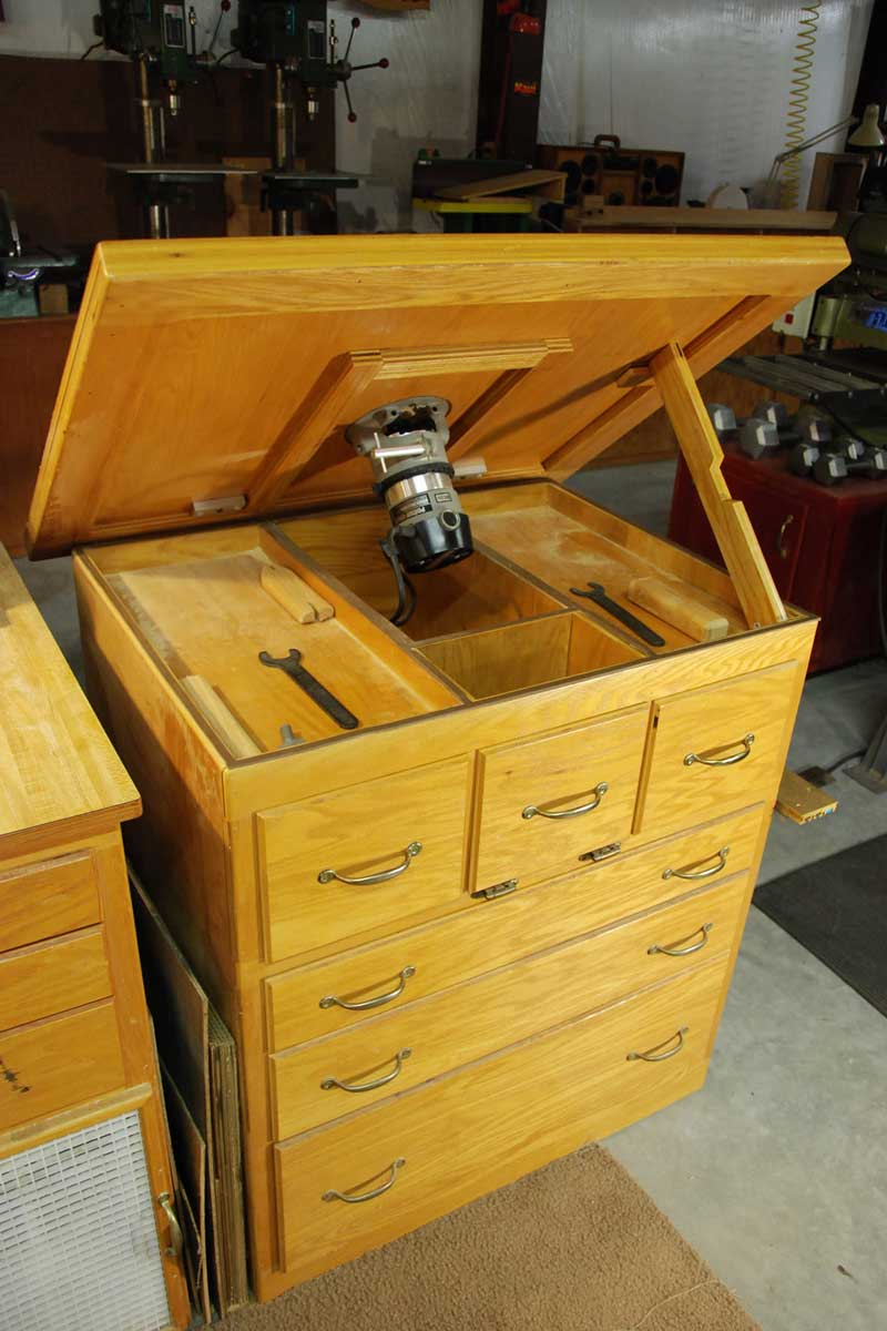 Norm's router table - The Shop - Wood Talk Online