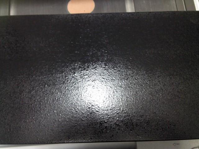 Help troubleshooting sprayed oil-based enamel issues