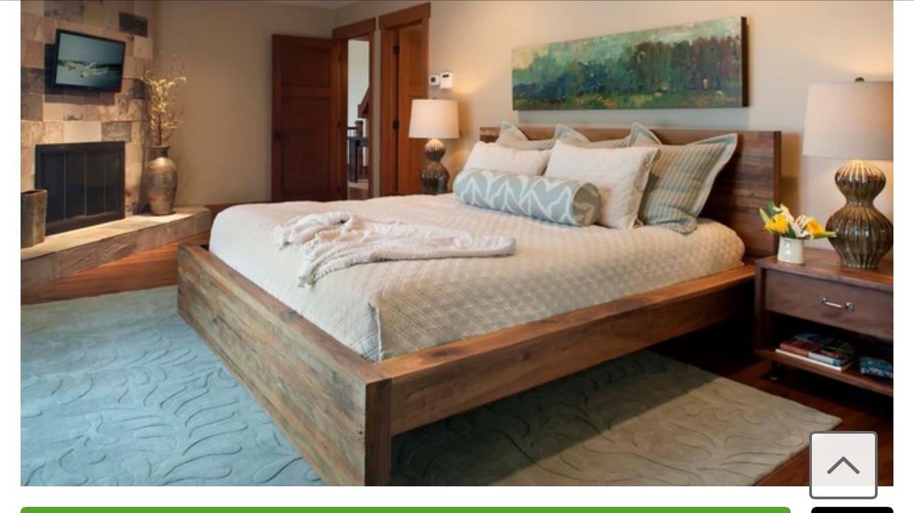 Кровать из цельного дерева: делаем аристократическую спальню.