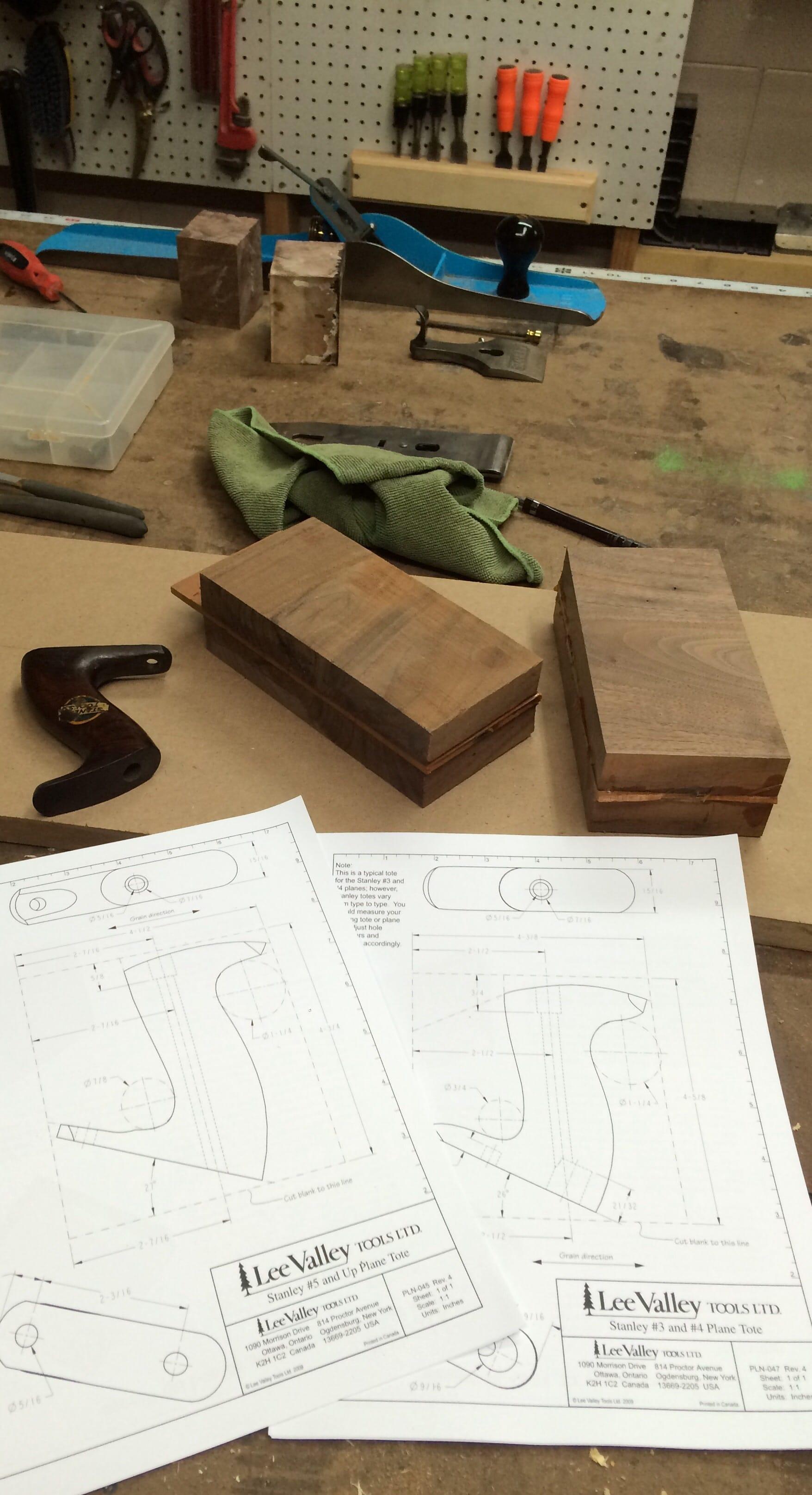 Hand Plane Handles General Woodworking Talk Wood Talk Online
