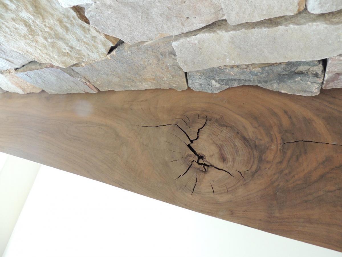 Finishing Walnut Mantel over Woodstove - Finishing - Wood Talk Online