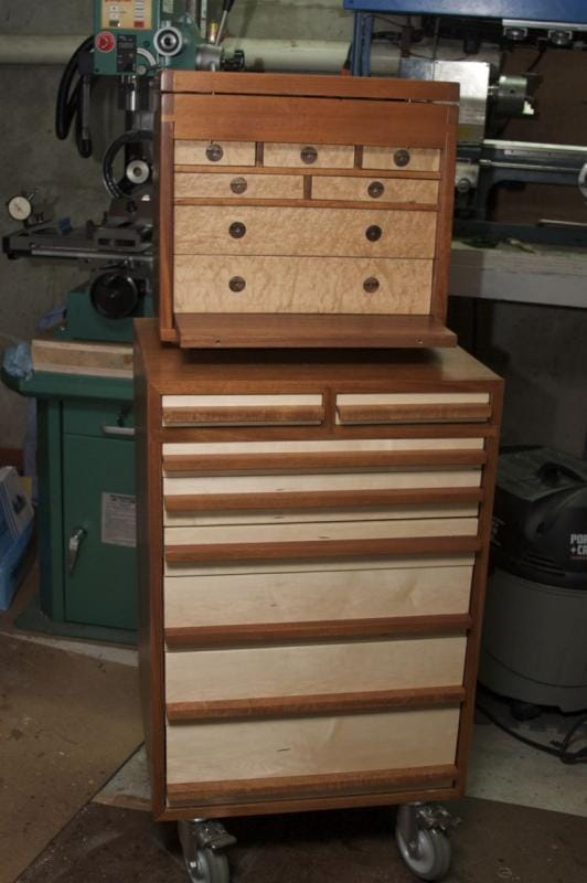 Toolcart+toolbox open
