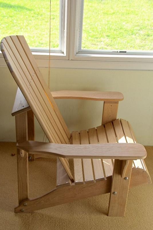 Adirondack Chair: Side View