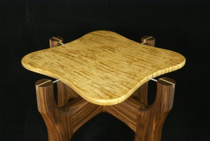 Sculpted End Table