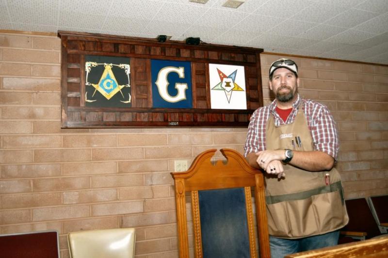 Masonic Light Box