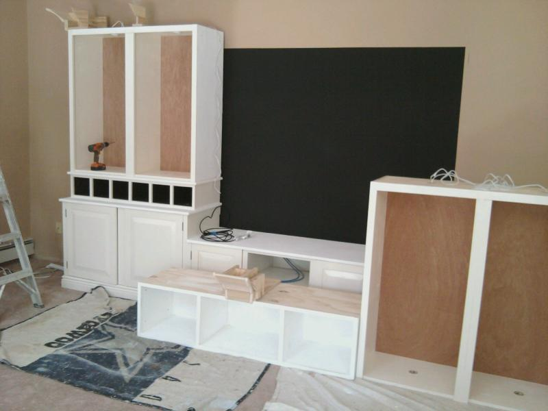 Entertainment Center - starting to look like something