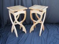 Pirouette Side Tables