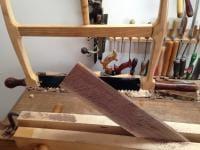 sawing veneer
