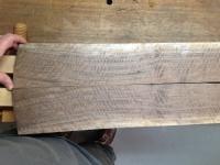 Bookmatched veneer