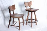 bar stool and chair