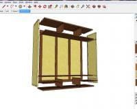 sketchup model of my new cabinet case