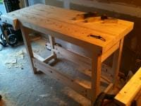 Lumber Bench 10 - Almost done!
