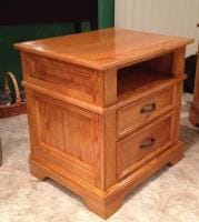 Oak Night Stand One Of Two