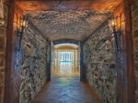 Tunnel from Wine Cellar to Pool Room