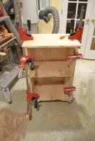 Glue up of Spindle Sander Cabinet
