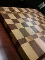 side view EG cutting board