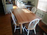 Oak Table Finished