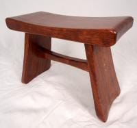 Bubinga Step Stool/Sitting Bench 2