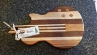 Guitar Cutting Board for Christmas 2014
