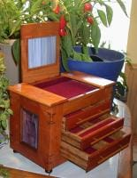 Stained glass jewelry Box 2