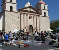 Santa Barbara I Madonnari Italian Street Painting Festival