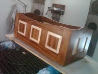 Finishing the bassinet