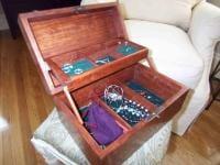 Bubinga jewelry box