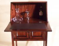 Mahogany wine secretary