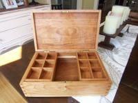 Cherry jewelry box