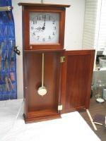 Box Store Pine Clock