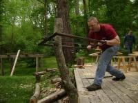 Rip sawing