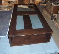 Huge Mahogany Coffee Table!