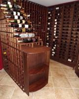Curved Wine cellar