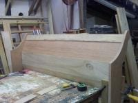 Foot Board for my Queen Sleigh Bed dry fit