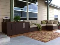 Outdoor Couch with Storage view 2