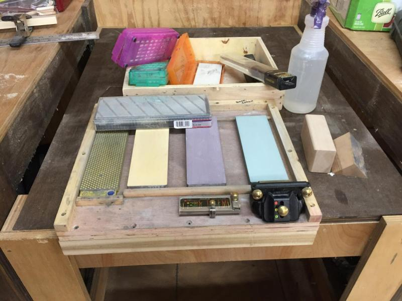 Sharpening Station Questions Hand Tools Wood Talk Online