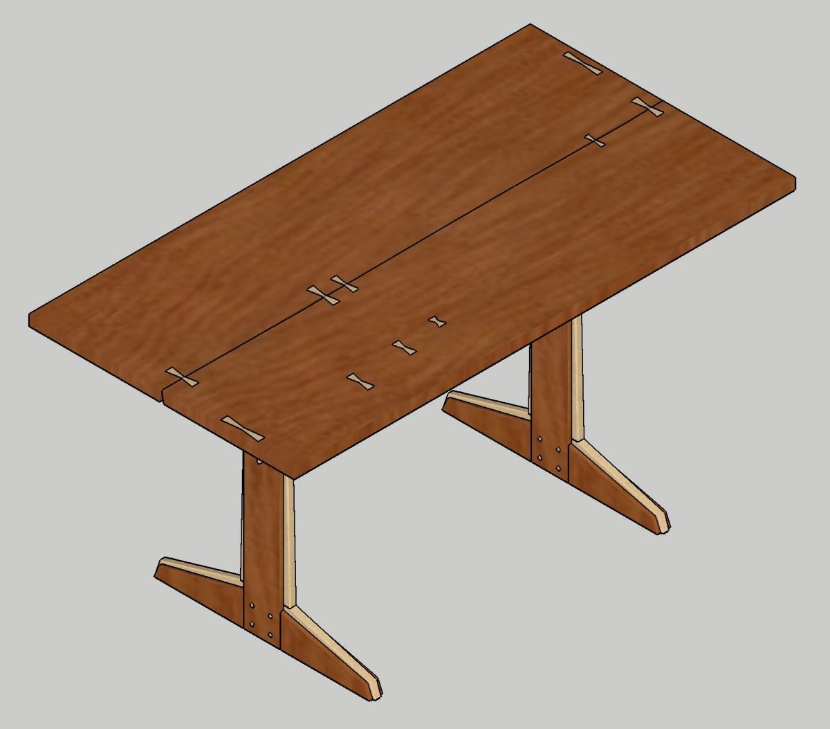 ishitani kigumi slab top table project journals wood talk online. Black Bedroom Furniture Sets. Home Design Ideas