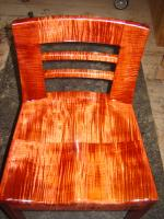 Curly maple chairs